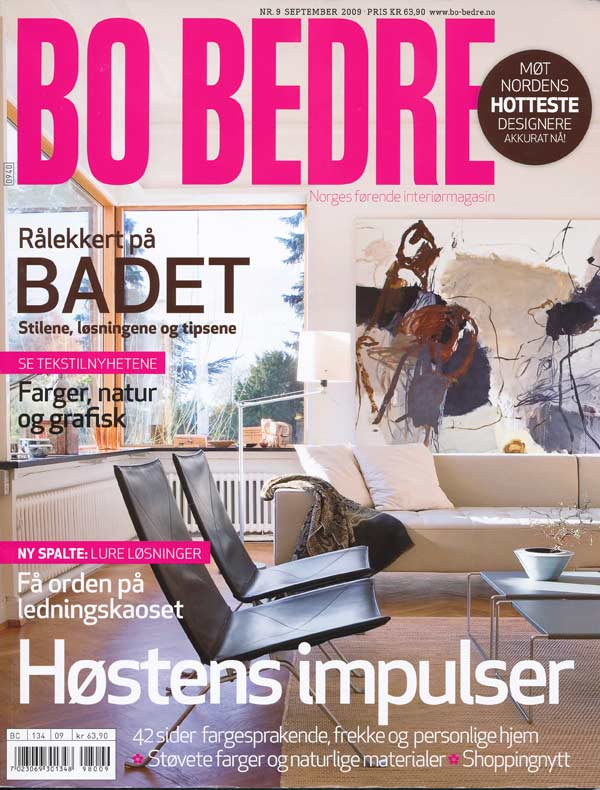 BO BEDRE Norway, Sept.09 Cover