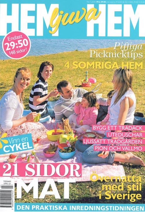 HEM LJUVA HEM, SWEDEN,  June 2008