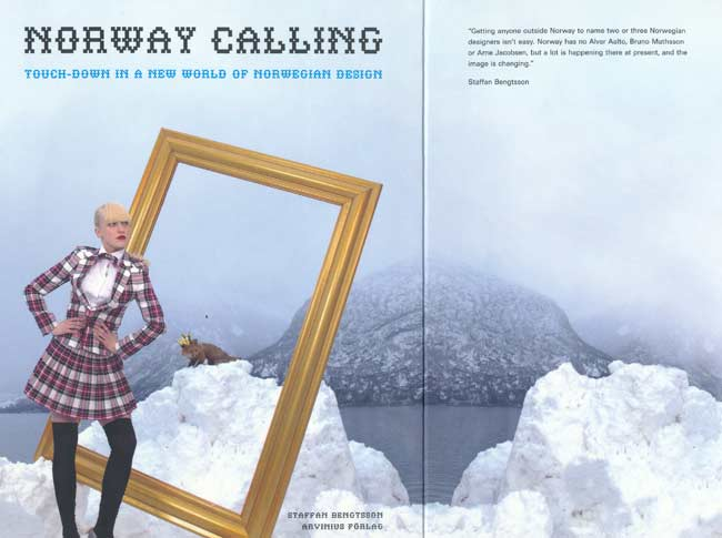 NORWAY CALLING, 2009. book cover