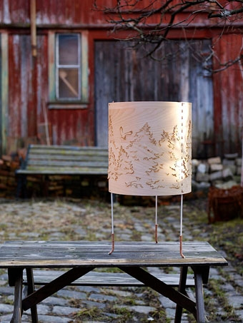 Norwegian Forest Table Lamp